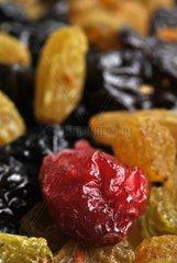 Mischung aus getrockneten Beeren