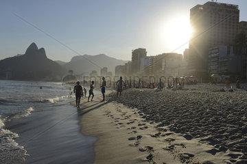 Rio de Janeiro Strand von de Ipanema