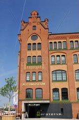 Automuseum Prototyp am Lohseplatz in der Hafencity von Hamburg  Deutschland