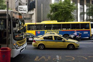 Verkehr Rio de Janeiro Stadt