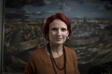 Katja Kipping  Chairwoman of the German left-wing party Die Linke