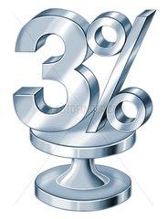 3-Prozent
