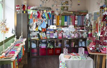 Interior eines Kinderbekleidungsgeschaeftes