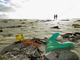 Strandverschmutzung