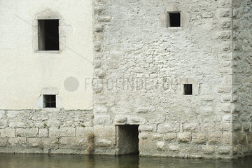 !7th Century building surrounded by water