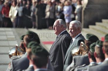 Kohl + Jelzin