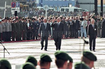 Jelzin + Kohl