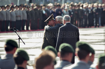 Burlakow + Jelzin + Kohl