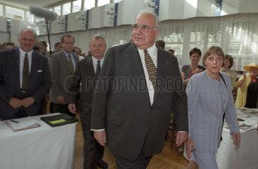 Kohl + Merkel