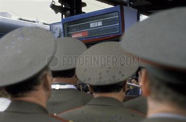 Russische Offiziere