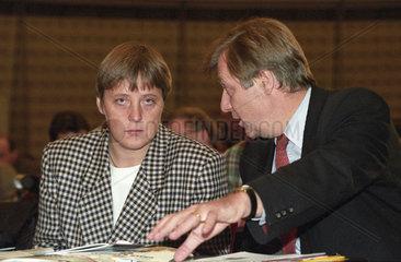 Merkel + Diepgen