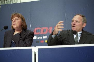 Merkel + Schaeuble