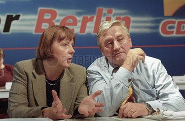 Merkel + Landowsky