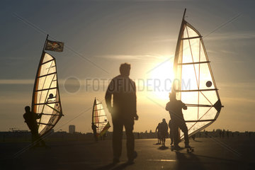 Windskater  Tempelhofer Feld