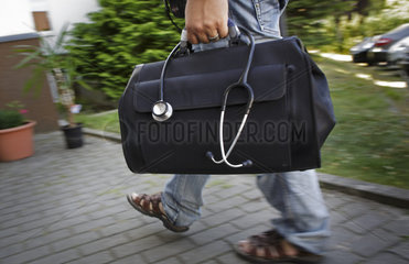 Landarzt auf Hausbesuch