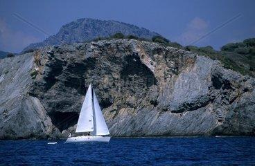 TUR  Tuerkei  Fethiye  10.10.2005: Im Golf von Fethiye