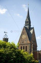 gotische Marktkirche in Hannover