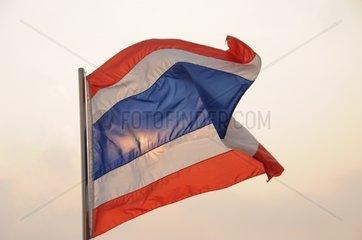 Thailaendische Flagge
