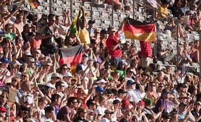 Zuschauer bei einer Sportveranstaltung