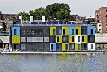 Informationszentrum IBA Dock in Veddel  Hamburg  Deutschland
