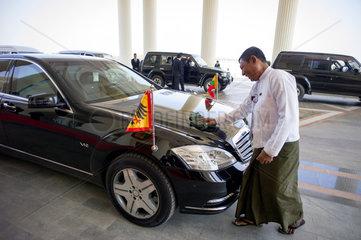 Dienstwagen des Bundespraesidenten