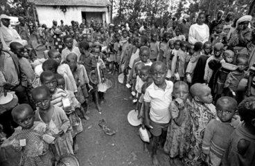 Kinder im Fluechtlingslager