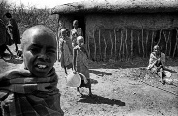 Massai Familie