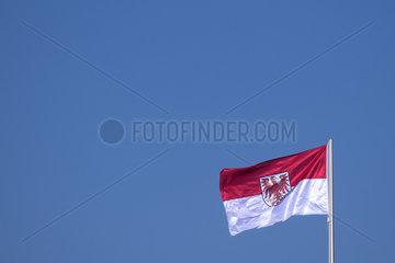 Potsdam  Fahne Brandenburg