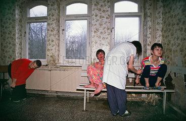 Patientinnen der geschlossenen Psychiatrie