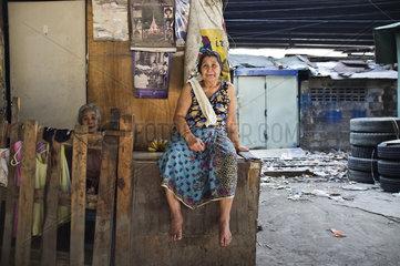 Gesichter von Bangkok