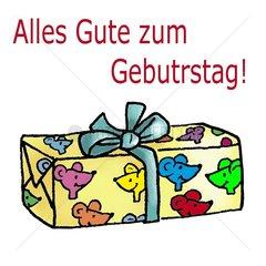 Geburtstagsgrue_e Geschenk
