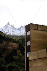 Wohnblock; Chamonix-Mont-Blanc