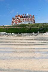Headland Hotel; Fistral Beach