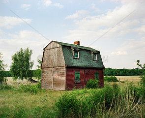 Verlassenens Bauernhaus