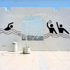 Schwimmstadion in Ammann