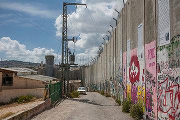 Grenzmauer in Bethlehem