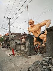 Monster auf Bali