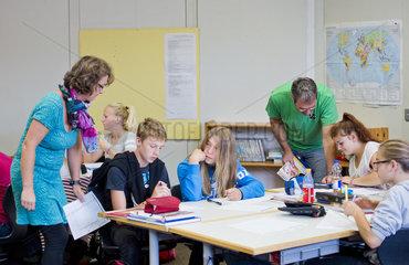 Inklusionsklasse einer integrierten Gesamtschule