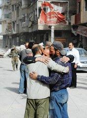 SYRIA-DAMASCUS-LIFE-IN-AYN-TARMA-TOWN