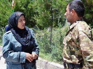 AFGHANISTAN-TIRIN KOT-POLICEWOMAN-MASOUMA