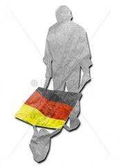 Deutschland im Karren