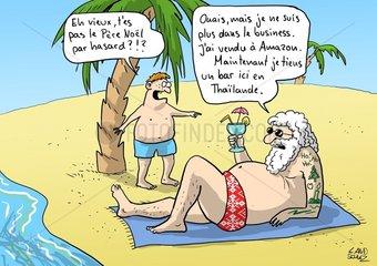 Père Noël Amazon