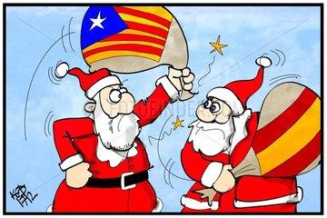 Joyeux Noël-Paix sur la Terre aux hommes de bonne volonté! (Espagne et Cata