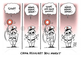 Chinas Stopp-Mechanismus: neue Notbremse soll Maerkte beruhigen