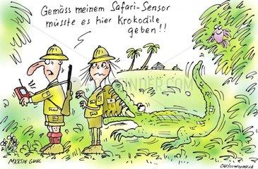 Safari Krokodile