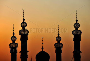China  Moschee in der Autonomen Region Ningxia Hui
