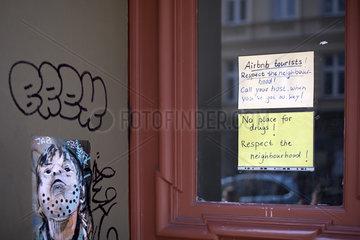 Airbnb  Against Tourism  Berlin-Kreuzberg  Gentrifizierung