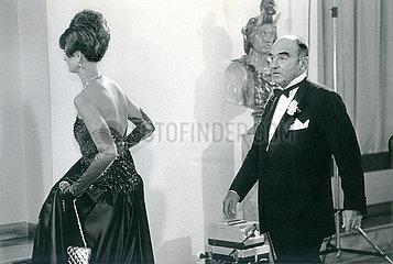 Fuerstin Gloria und Fuerst Johannes von Thurn und Taxis  1987