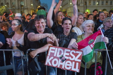 Demonstration der Opposition in Ungarn nach der Parlamentswahl 2018