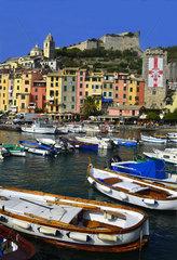ILLUSTRATION OF LIGURIA  CINQUE TERRE  ITALY